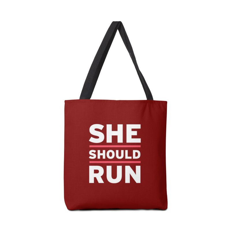 She Should Run Logo Accessories Bag by She Should Run Swag Shop