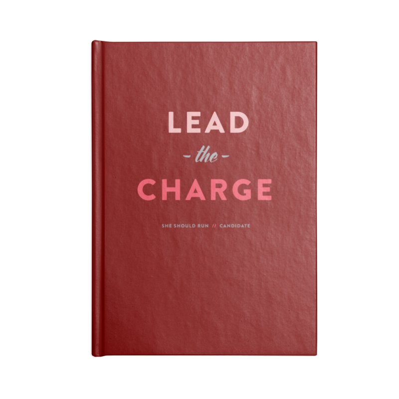 Lead the Charge Accessories Blank Journal Notebook by She Should Run Swag Shop