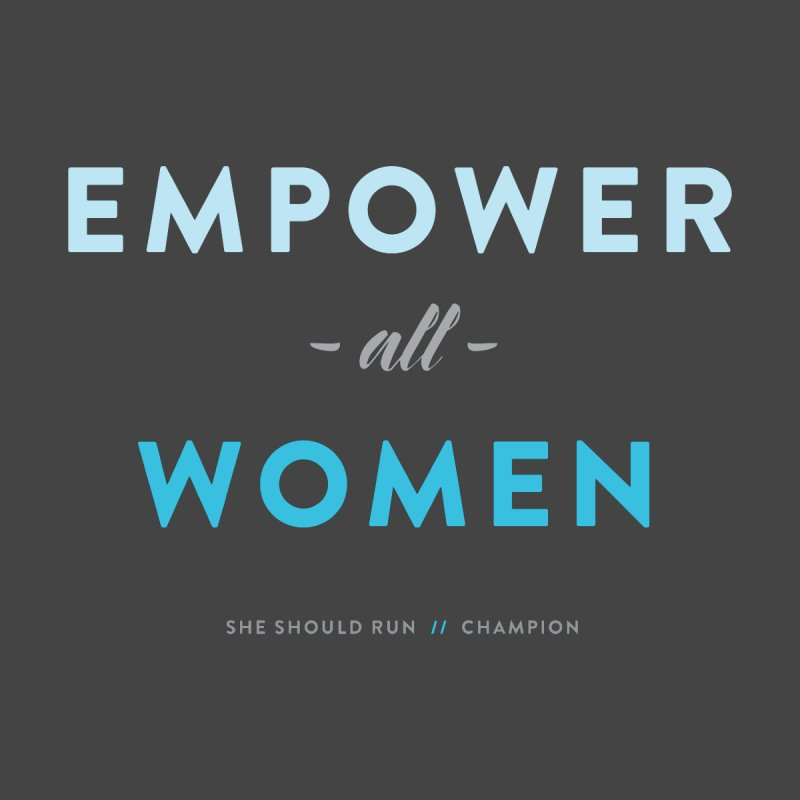 Empower All Women Accessories Notebook by She Should Run Swag Shop