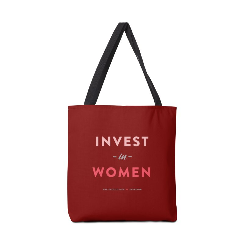 Invest in Women Accessories Tote Bag Bag by She Should Run Swag Shop