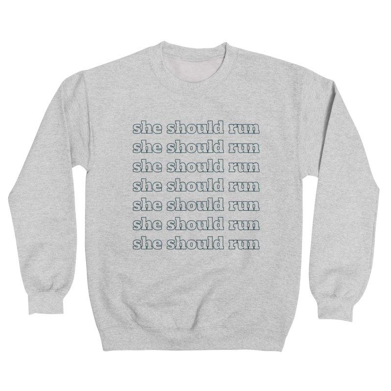 she should run Women's Sweatshirt by She Should Run Swag Shop