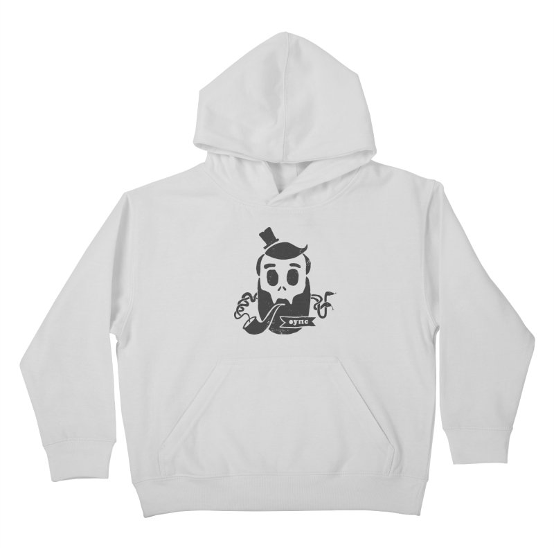 Muerto Bronson Kids Pullover Hoody by shewo's Artist Shop