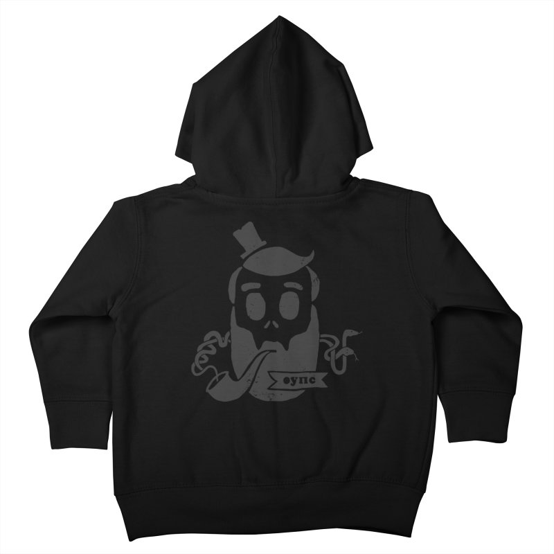 Muerto Bronson Kids Toddler Zip-Up Hoody by shewo's Artist Shop