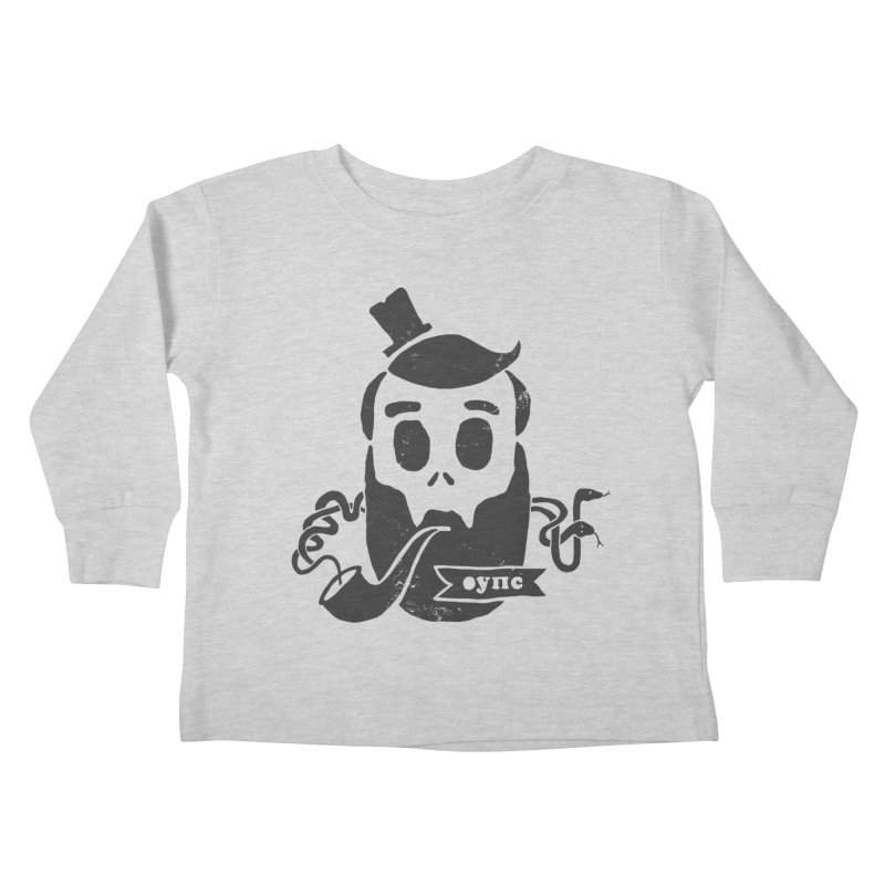 Muerto Bronson Kids Toddler Longsleeve T-Shirt by shewo's Artist Shop