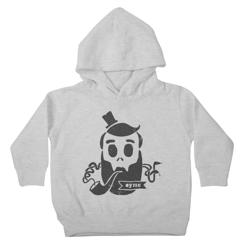 Muerto Bronson Kids Toddler Pullover Hoody by shewo's Artist Shop