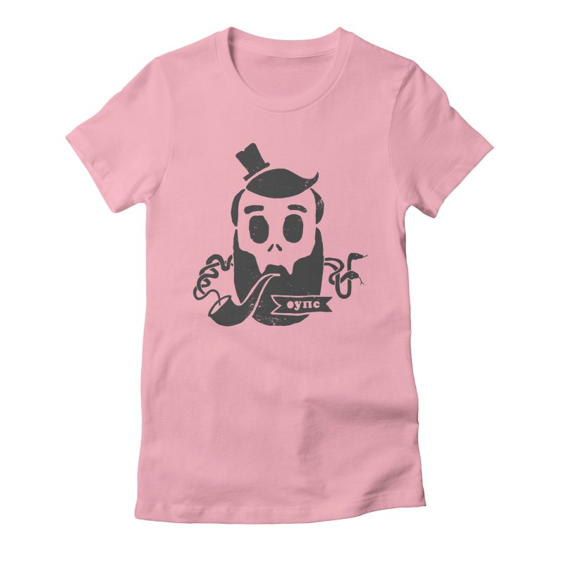 Muerto Bronson Women's Fitted T-Shirt by shewo's Artist Shop