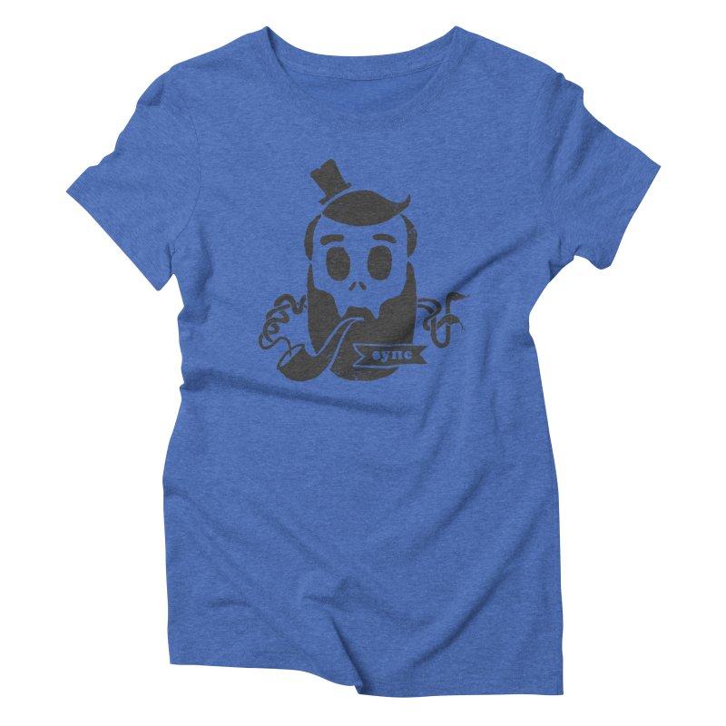 Muerto Bronson Women's Triblend T-Shirt by shewo's Artist Shop