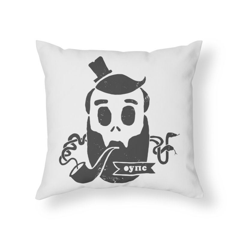 Muerto Bronson Home Throw Pillow by shewo's Artist Shop
