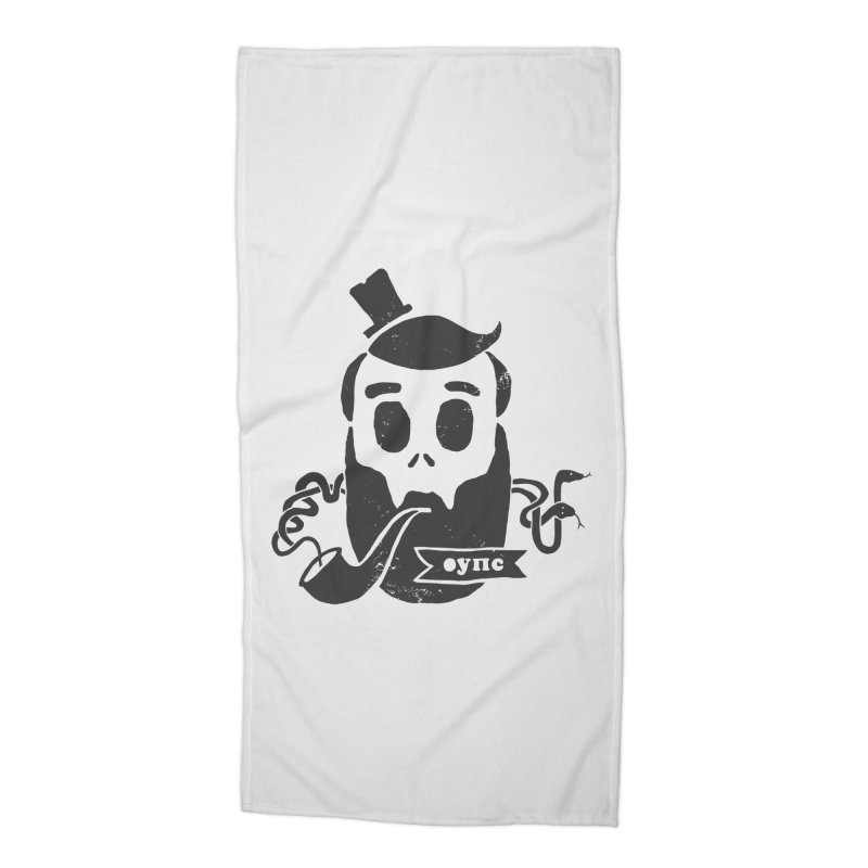 Muerto Bronson Accessories Beach Towel by shewo's Artist Shop
