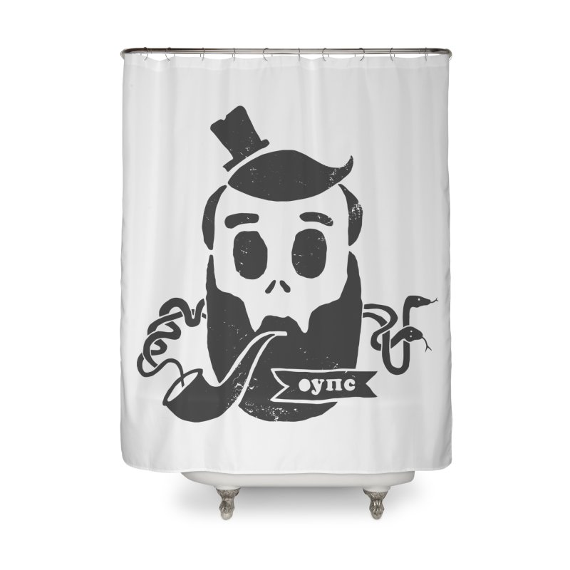 Muerto Bronson Home Shower Curtain by shewo's Artist Shop