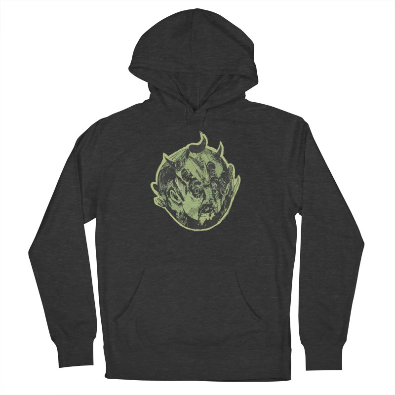 Angry drunk devil Men's Pullover Hoody by shewo's Artist Shop