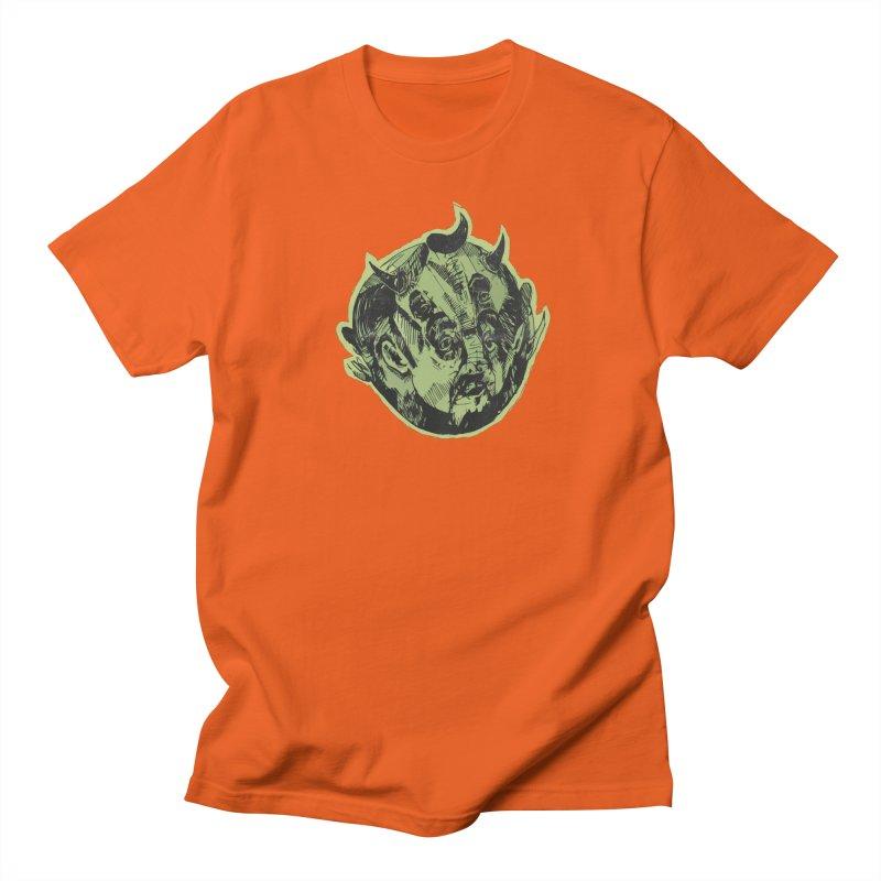 Angry drunk devil Men's T-shirt by shewo's Artist Shop