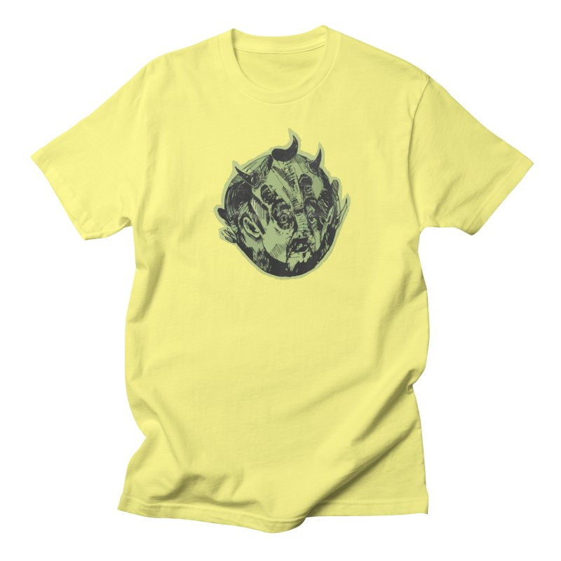 Angry drunk devil Men's T-shirt by shewo's Artist Shop