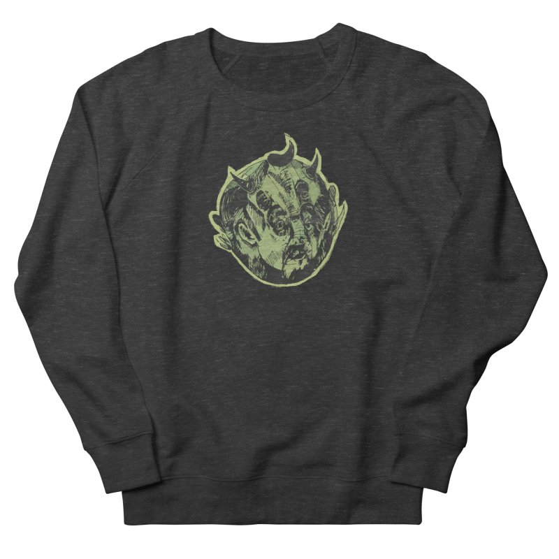 Angry drunk devil Men's Sweatshirt by shewo's Artist Shop