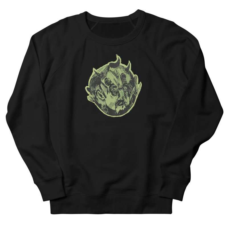 Angry drunk devil Men's Sweatshirt by shewo's Artist Shop