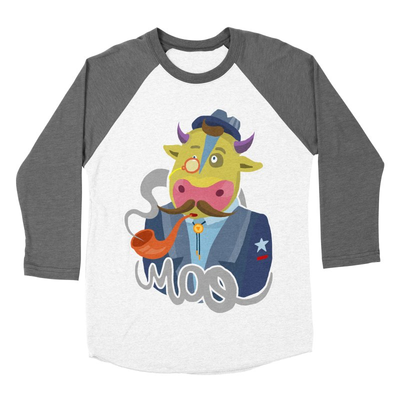 Bull master Women's Baseball Triblend T-Shirt by shewo's Artist Shop