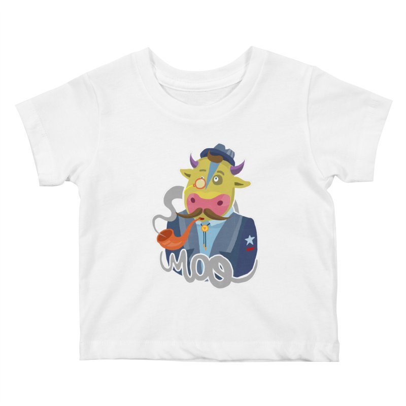 Bull master Kids Baby T-Shirt by shewo's Artist Shop