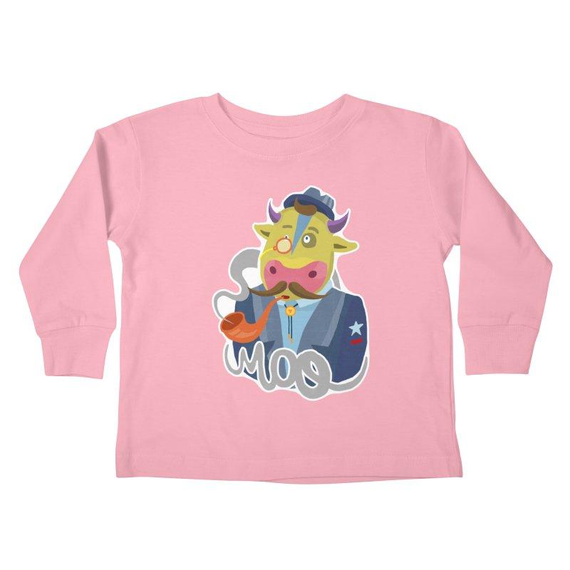 Bull master Kids Toddler Longsleeve T-Shirt by shewo's Artist Shop
