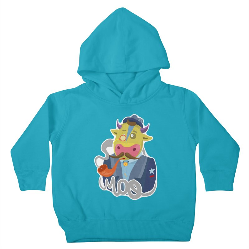Bull master Kids Toddler Pullover Hoody by shewo's Artist Shop
