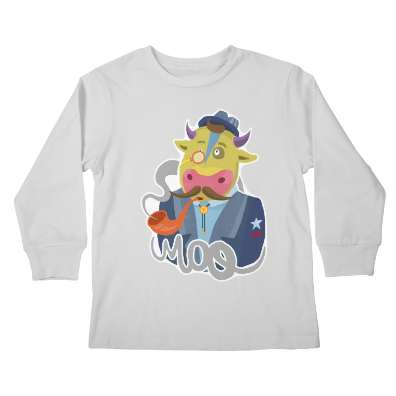 Bull master Kids Longsleeve T-Shirt by shewo's Artist Shop