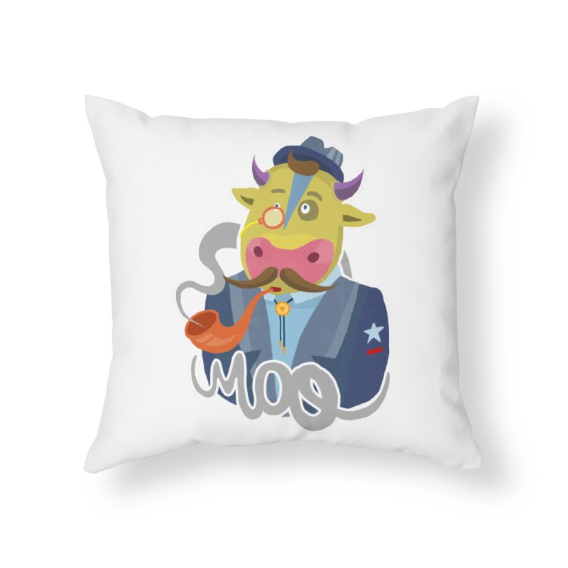 Bull master Home Throw Pillow by shewo's Artist Shop