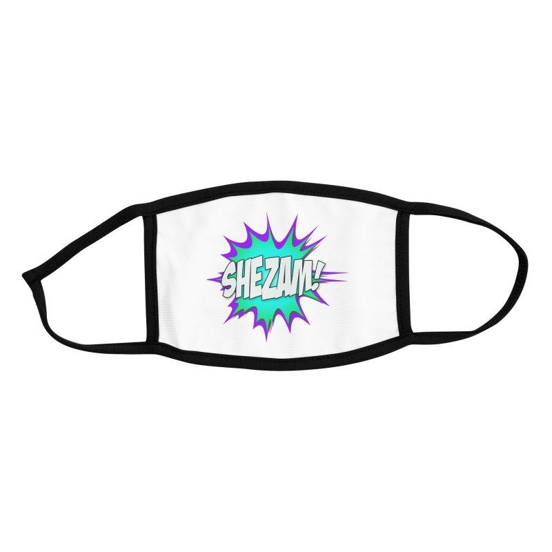 Shezam! Accessories Face Mask by Shezam Pod