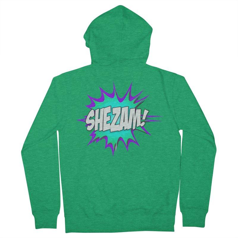 Shezam! Men's Zip-Up Hoody by Shezam Pod