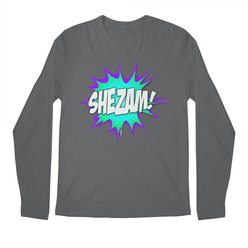 Shezam! Men's Longsleeve T-Shirt by Shezam Pod