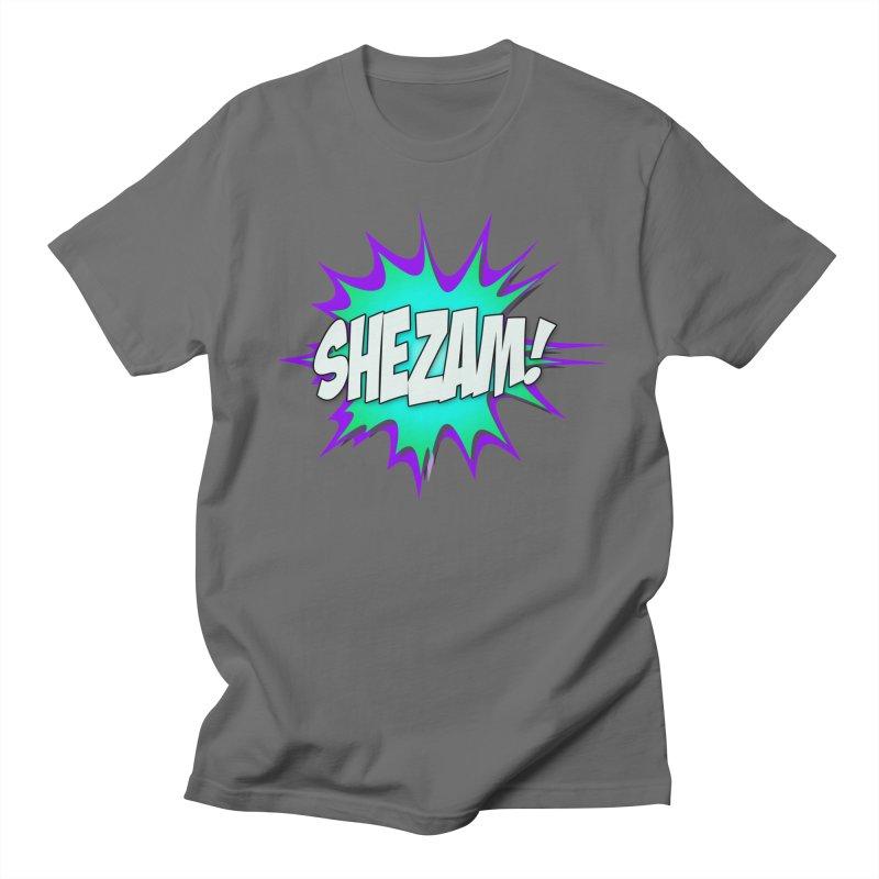 Shezam! Men's T-Shirt by Shezam Pod