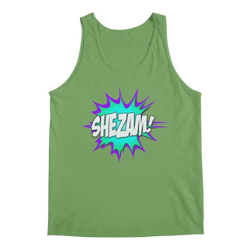 Shezam! Men's Tank by Shezam Pod