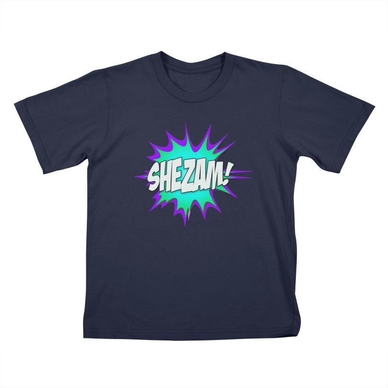 Shezam! Kids T-Shirt by Shezam Pod
