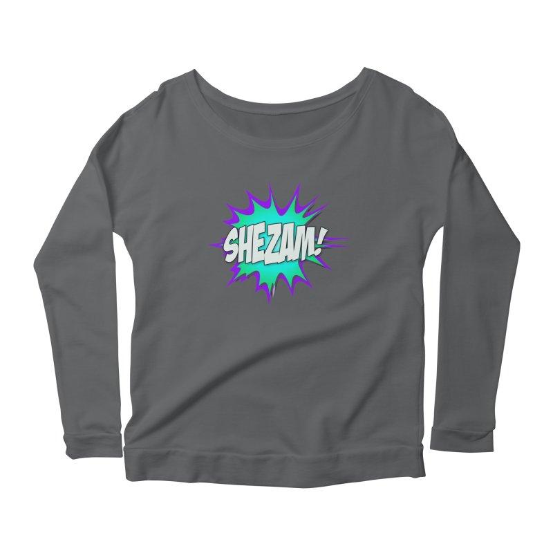 Shezam! Women's Longsleeve T-Shirt by Shezam Pod