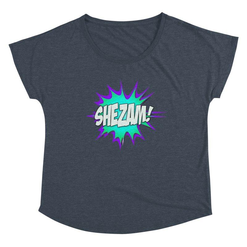 Shezam! Women's Scoop Neck by Shezam Pod