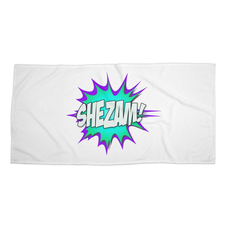 Shezam! Accessories Beach Towel by Shezam Pod