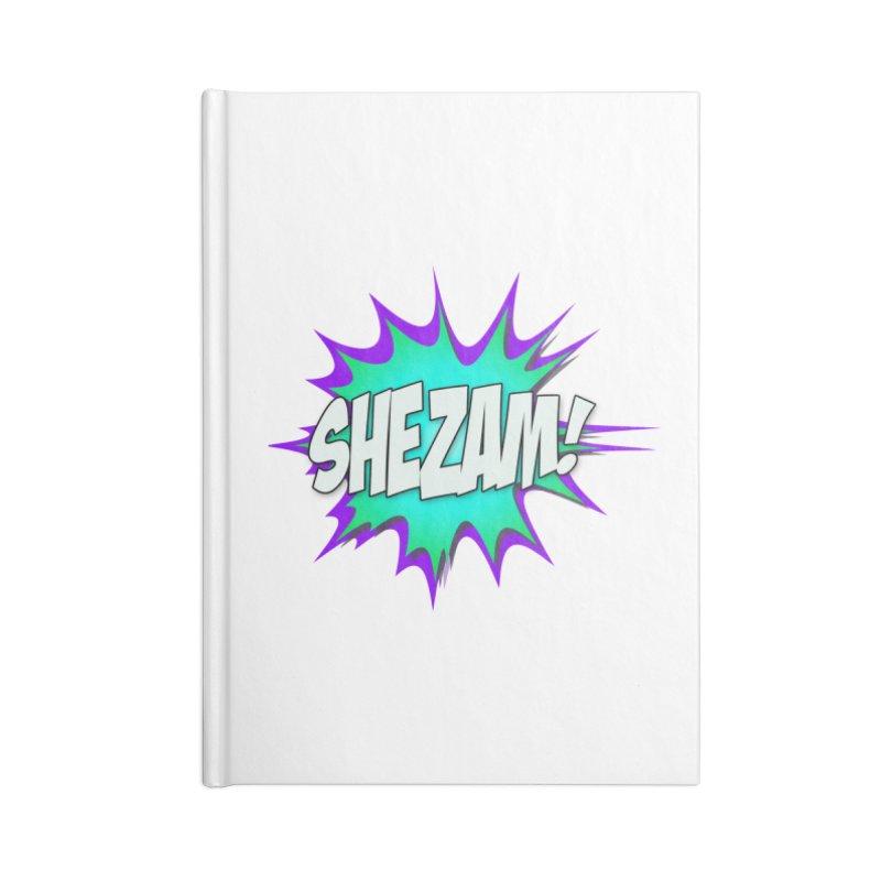 Shezam! Accessories Notebook by Shezam Pod