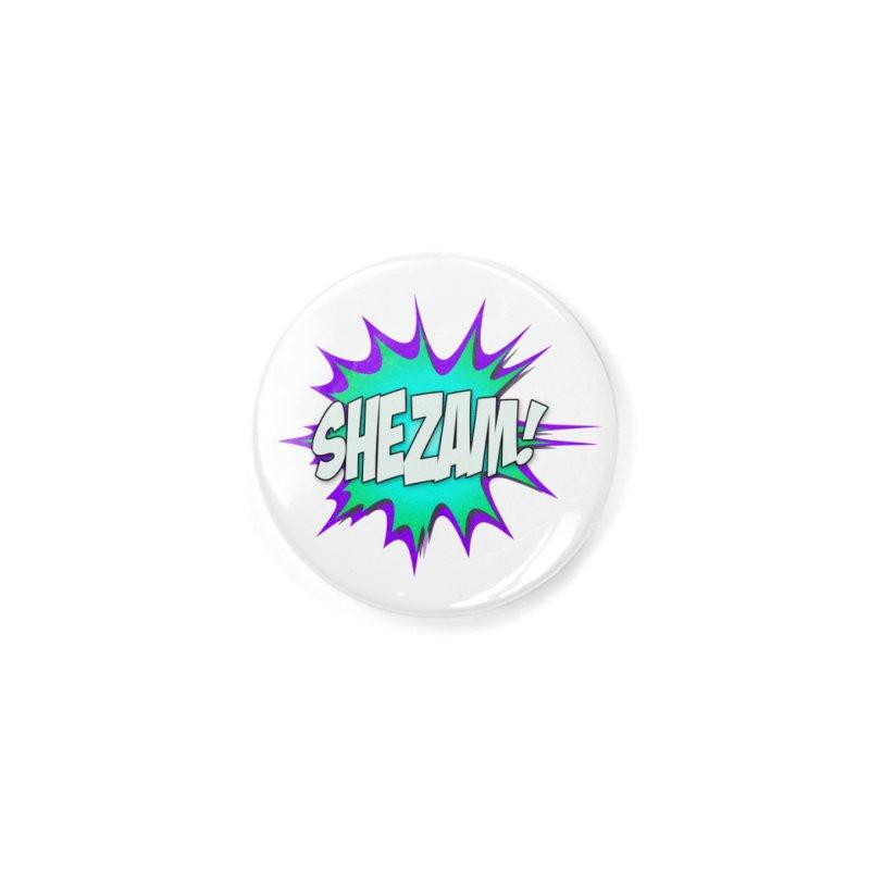 Shezam! Accessories Button by Shezam Pod