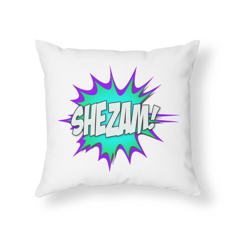 Shezam! Home Throw Pillow by Shezam Pod