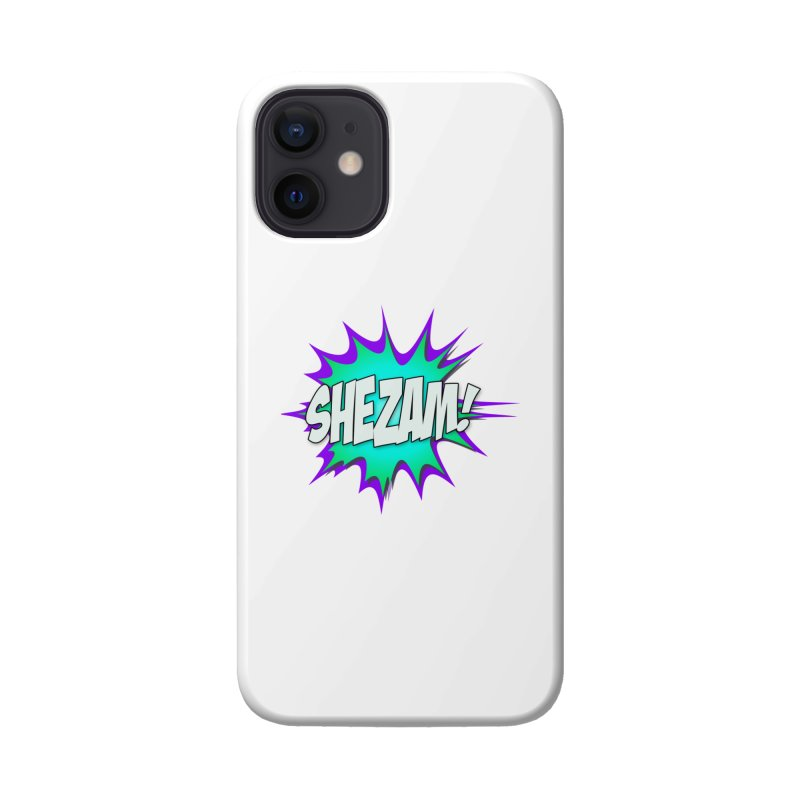 Shezam! Accessories Phone Case by Shezam Pod
