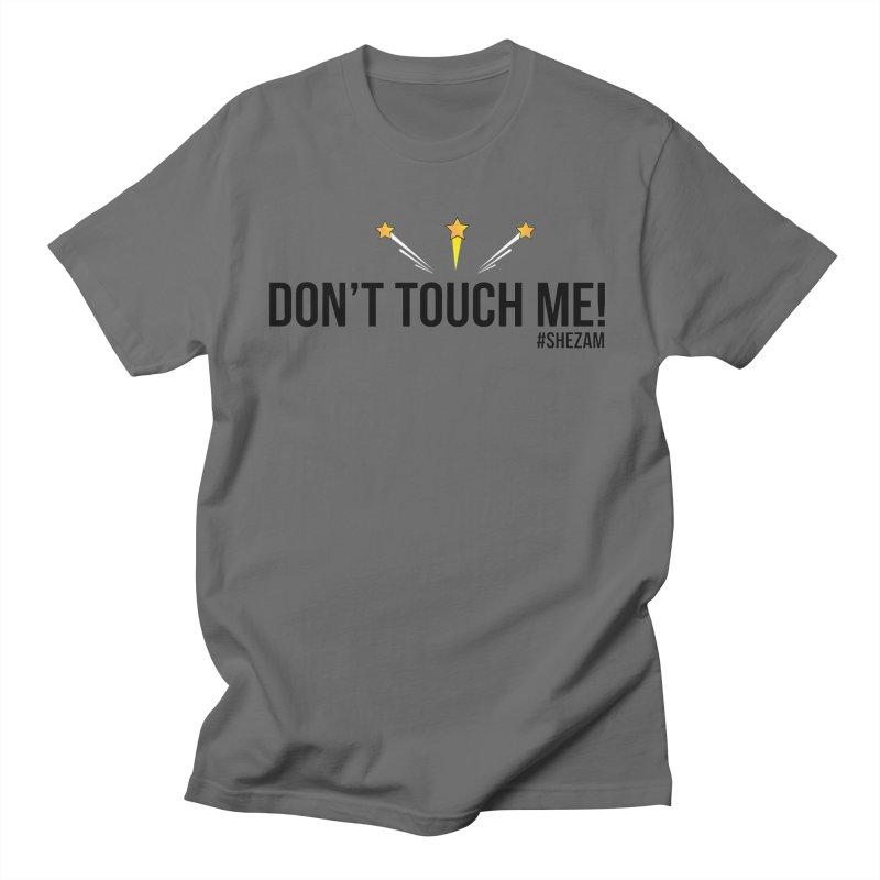 Don't Touch Me (light background) Men's T-Shirt by Shezam Pod