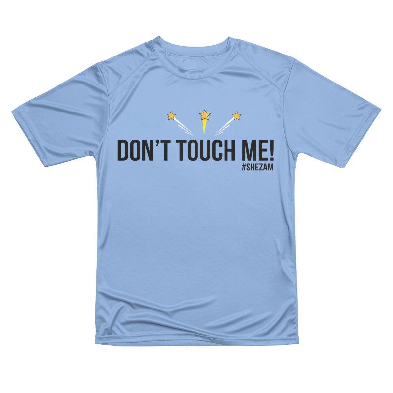 Don't Touch Me (light background) Women's T-Shirt by Shezam Pod