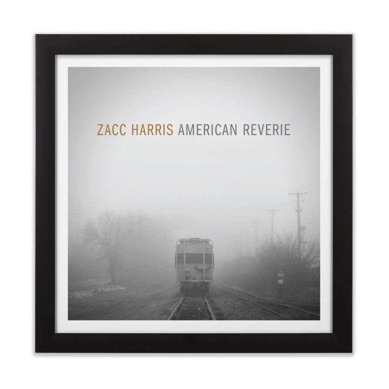 American Reverie Home Framed Fine Art Print by shiftingparadigmrecords's Artist Shop