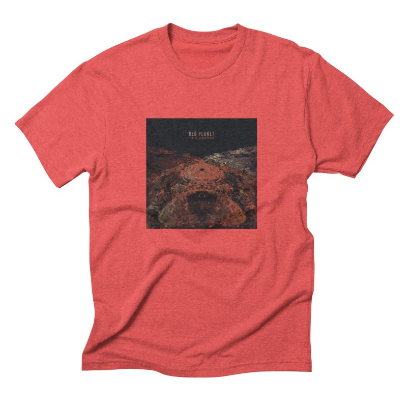 Red Planet With Bill Carrothers Men's T-Shirt by shiftingparadigmrecords's Artist Shop