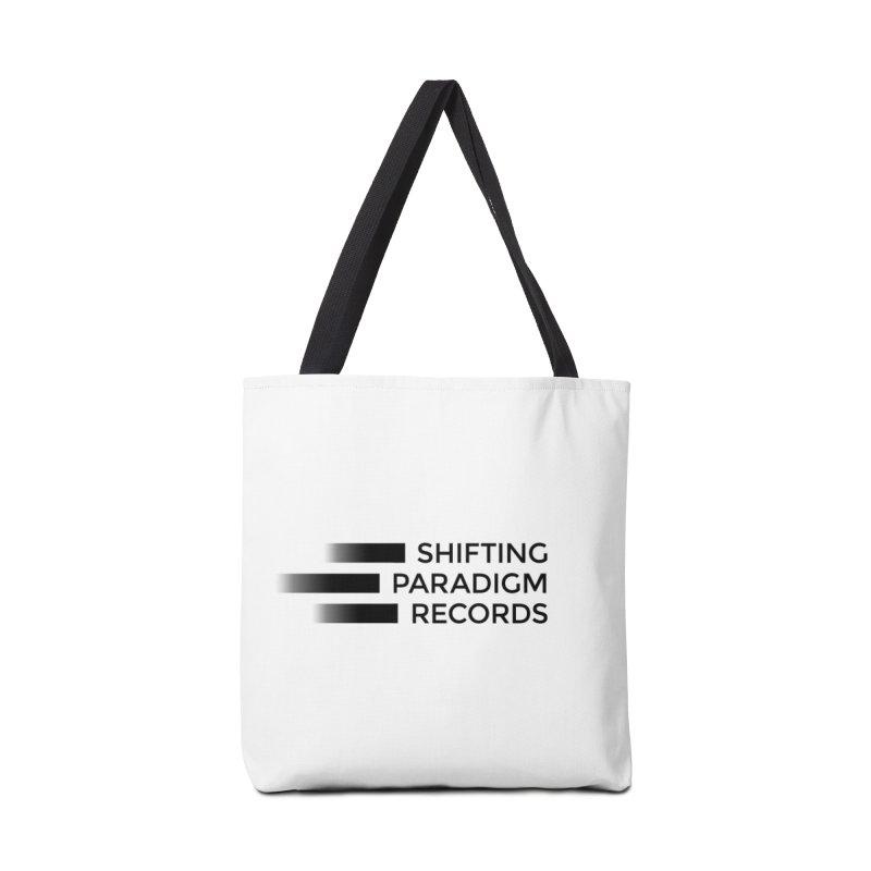SPR logo Accessories Bag by shiftingparadigmrecords's Artist Shop