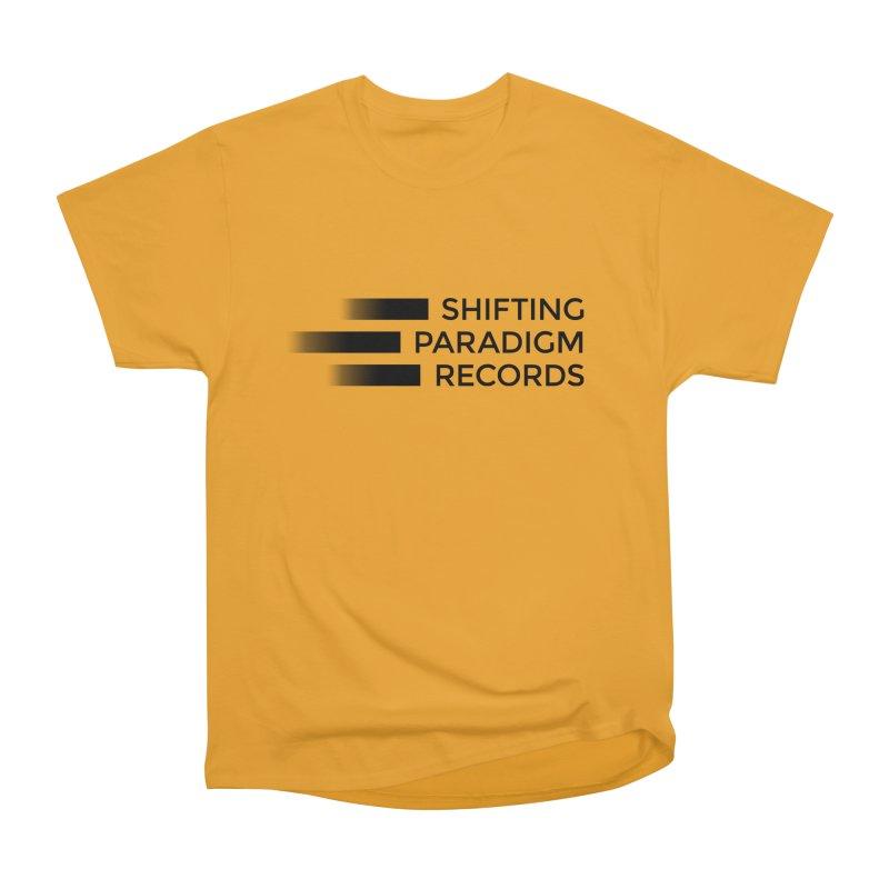 SPR logo Men's Heavyweight T-Shirt by shiftingparadigmrecords's Artist Shop