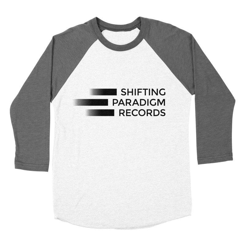 SPR logo Men's Baseball Triblend Longsleeve T-Shirt by shiftingparadigmrecords's Artist Shop