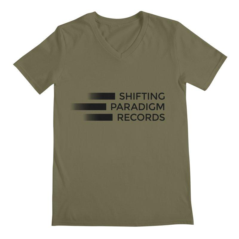 SPR logo Men's Regular V-Neck by shiftingparadigmrecords's Artist Shop