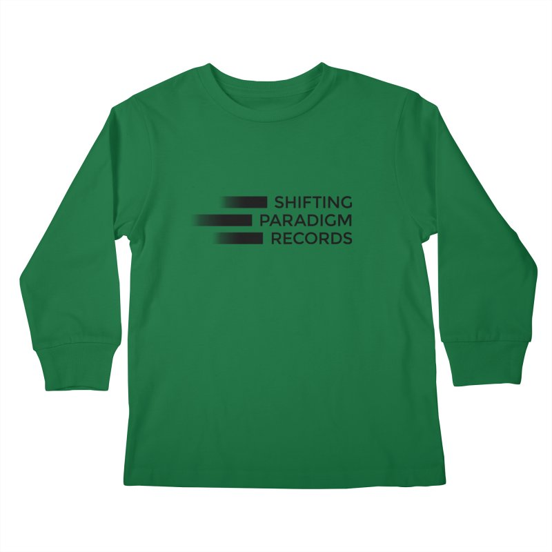 SPR logo Kids Longsleeve T-Shirt by shiftingparadigmrecords's Artist Shop