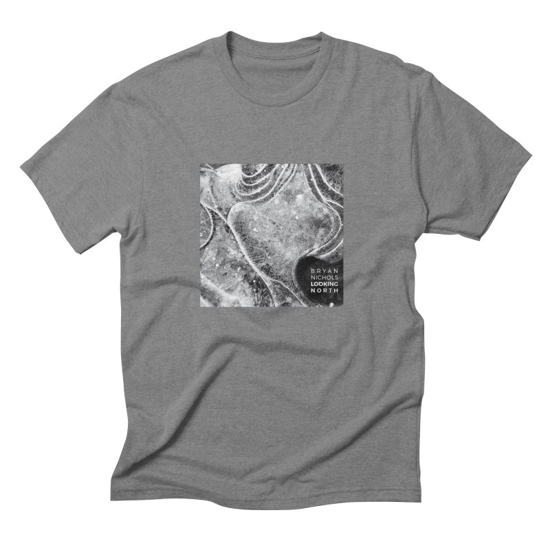 Bryan Nichols LOOKING NORTH Men's T-Shirt by shiftingparadigmrecords's Artist Shop