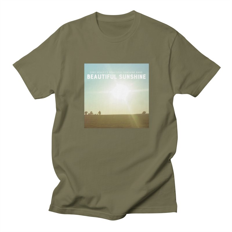 Cory Healey's Beautiful Sunshine Cover Men's T-Shirt by shiftingparadigmrecords's Artist Shop