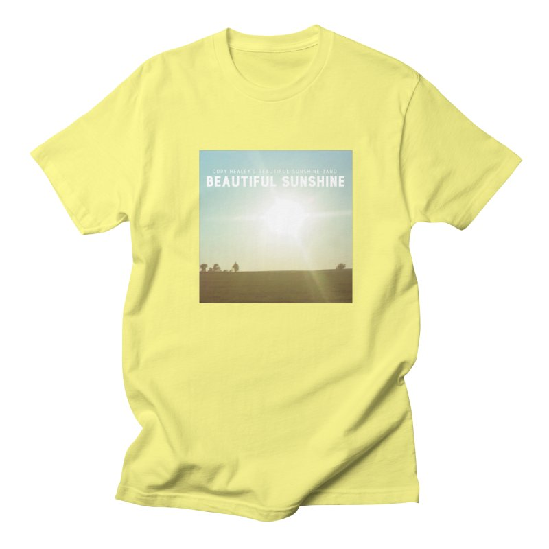 Cory Healey's Beautiful Sunshine Cover Men's T-Shirt by shiftingparadigmrecords's Artist Shop